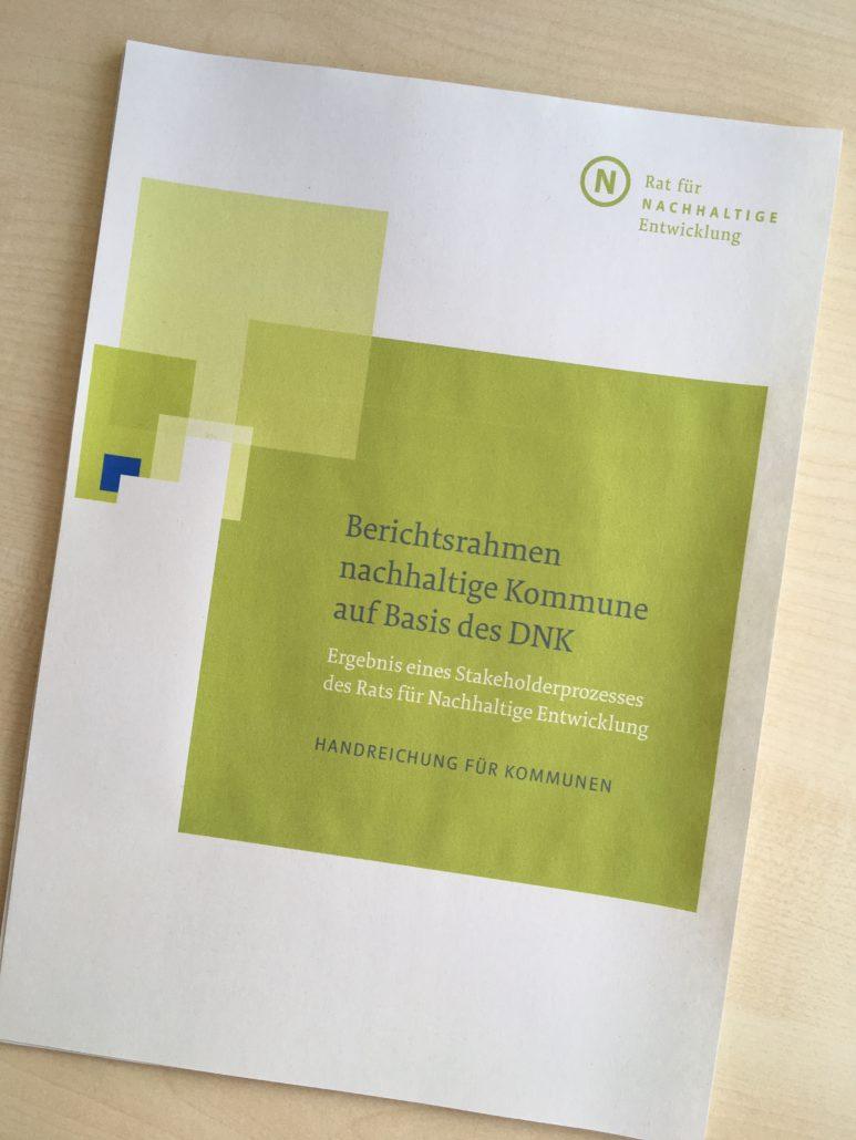 Berichtsrahmen nachhaltige Kommune